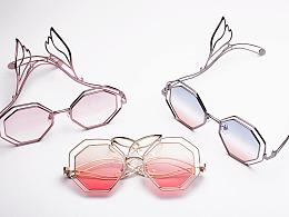 原创眼镜设计-天使系列