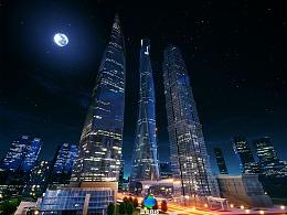 城市虚拟现实 虚幻4引擎制作