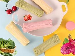 蔬果面蔬菜面条果汁面条蔬菜汁面条详情页