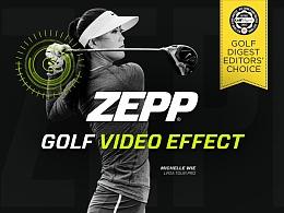 Zepp Golf Video Effect