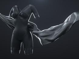 美人计塑形衣三维短片