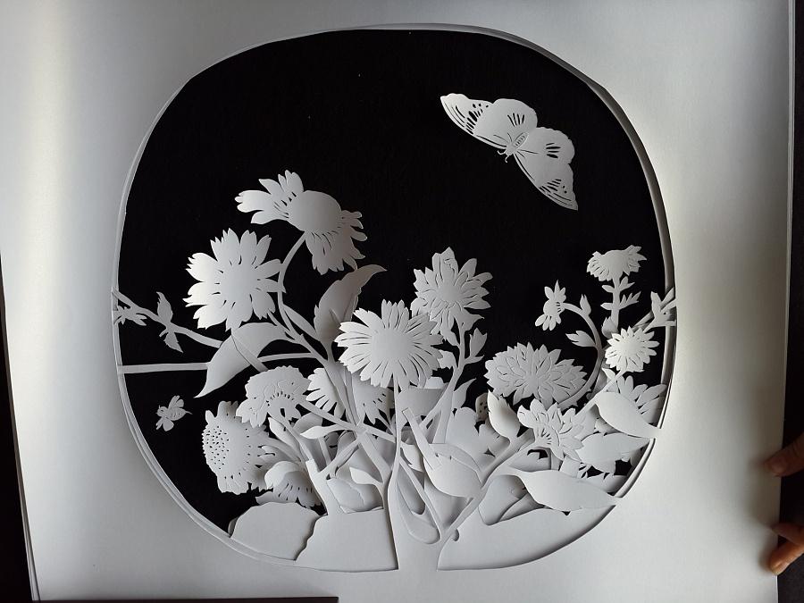 当代纸雕与传统配饰的融合,造就精美绝伦的纸雕服饰(图8)