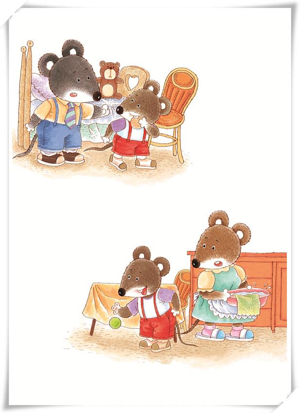 原创作品:小老鼠一家
