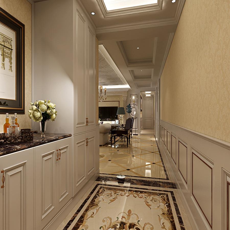 天鹅堡 法式装修效果图 五室两厅三卫两厨 210平米图片