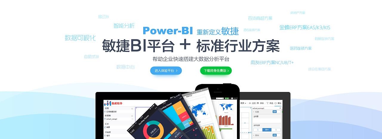 power bi+敏捷bi平台
