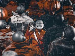 万圣节 Orange Rain