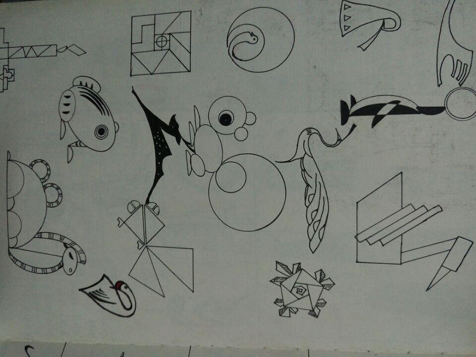 笔记本里的手绘