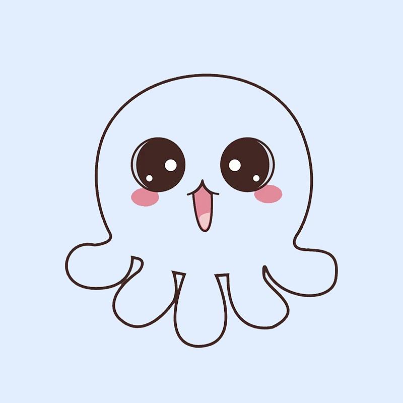 章鱼图片卡通图片