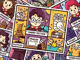 【哈利波特描边插画集】x 格兰芬多学院