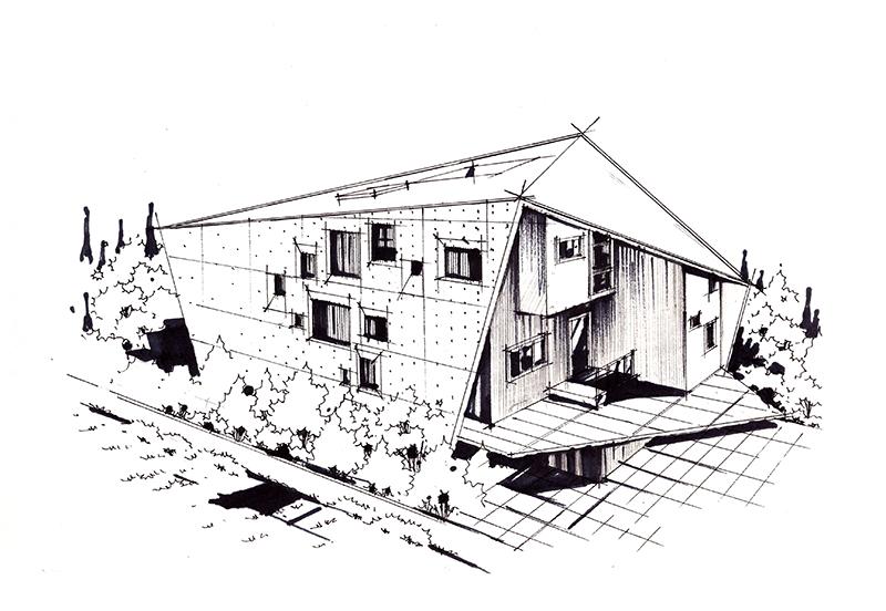 查看《建筑手绘马克笔上色步骤图》原图,原图尺寸:800x552