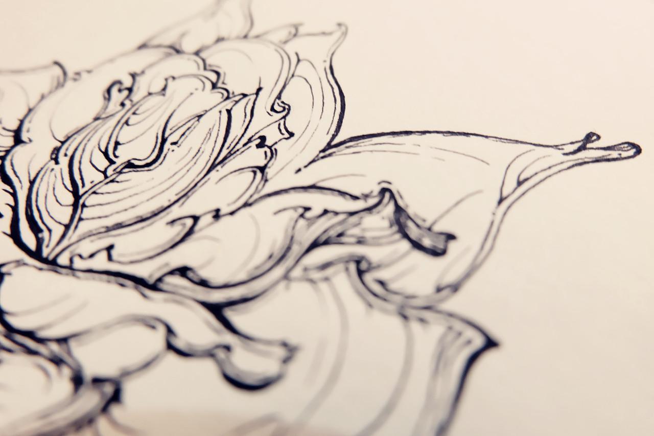原创设计手绘装饰画第五期
