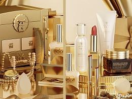 C4D护肤品产品渲染