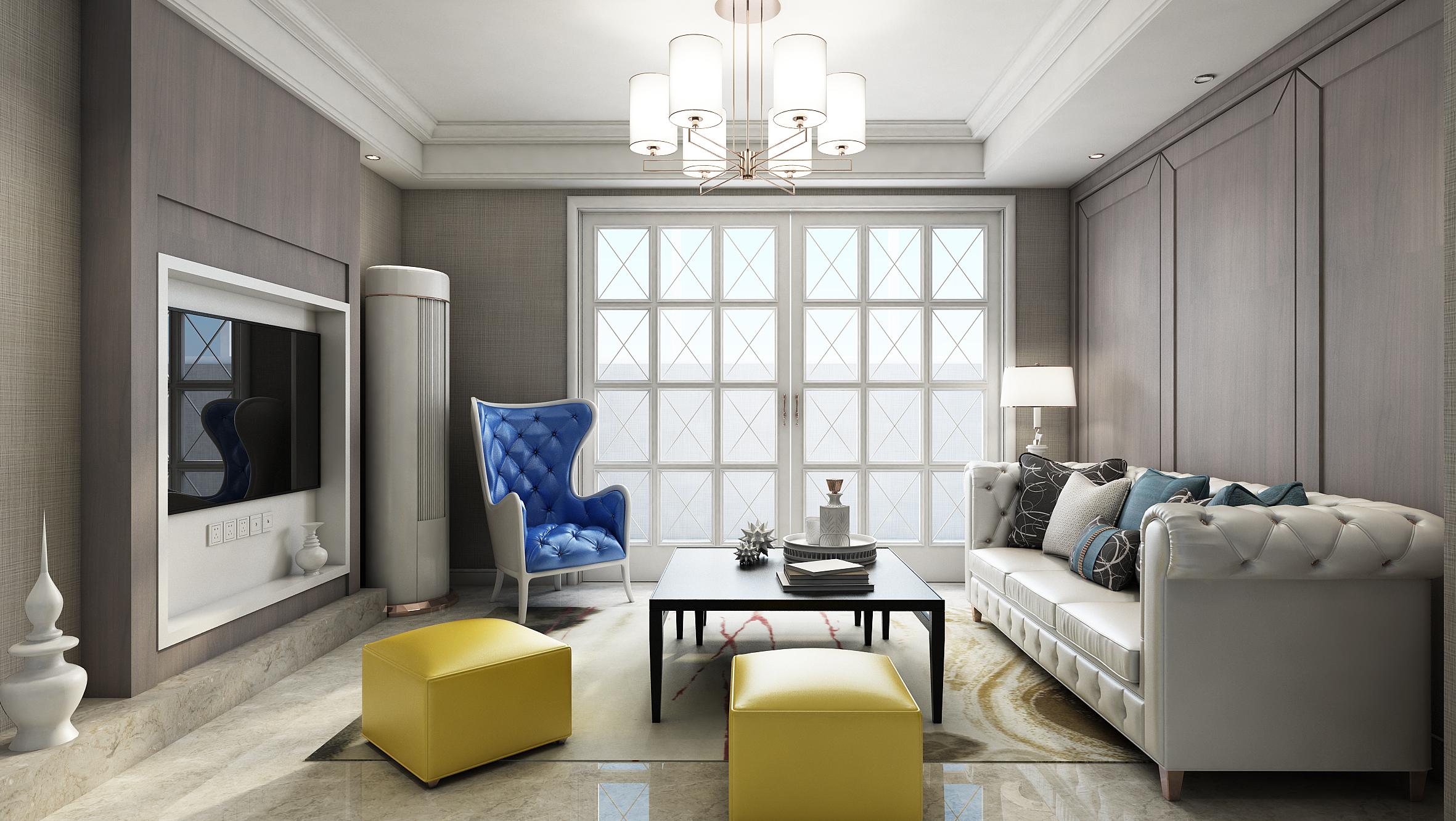 小客厅从新灯光|空间|室内设计|mission4爷 - 原创图片