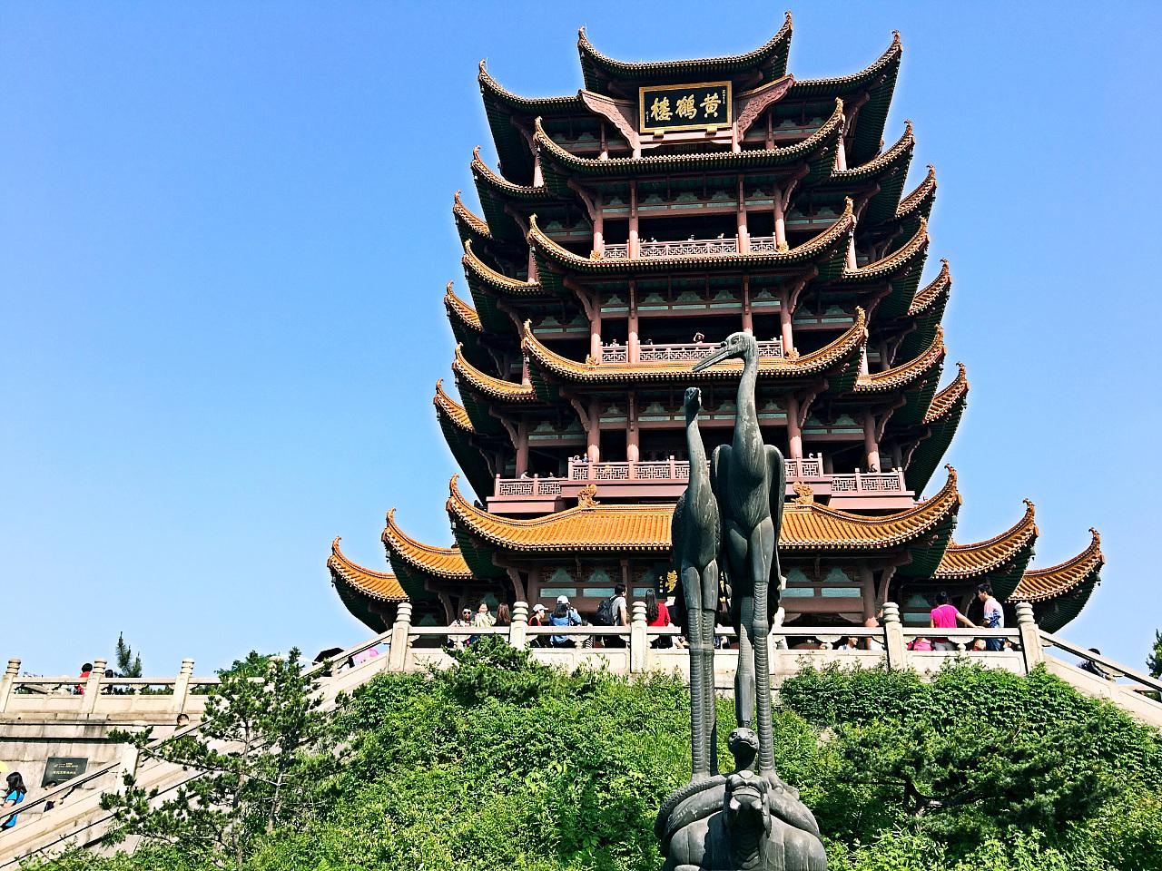 武汉电信信号塔的分布图