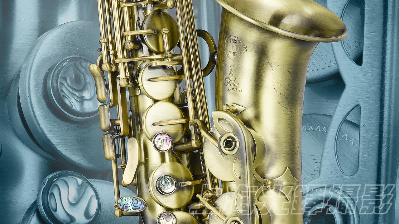 中音萨克斯构成了管乐队萨克斯声部的最主要部分,在爵士大乐队编制