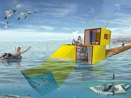 沉浸式海景集装箱