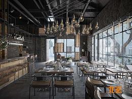 写实工业餐厅