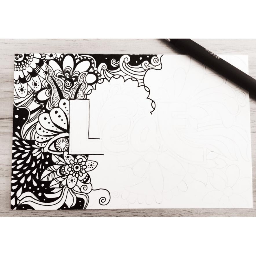 针管笔~手绘|其他艺创|纯艺术|叶紫清清