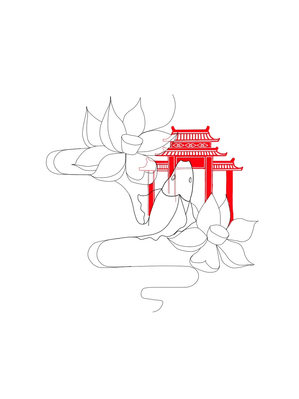 简笔画 设计 矢量 矢量图 手绘 素材 线稿 960_1280 竖版 竖屏