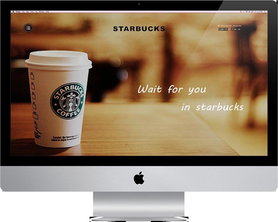星巴克官网设计|企业官网|网页|马维图片