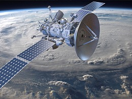 通讯卫星 通信卫星  科幻卫星 sci-fi satellite