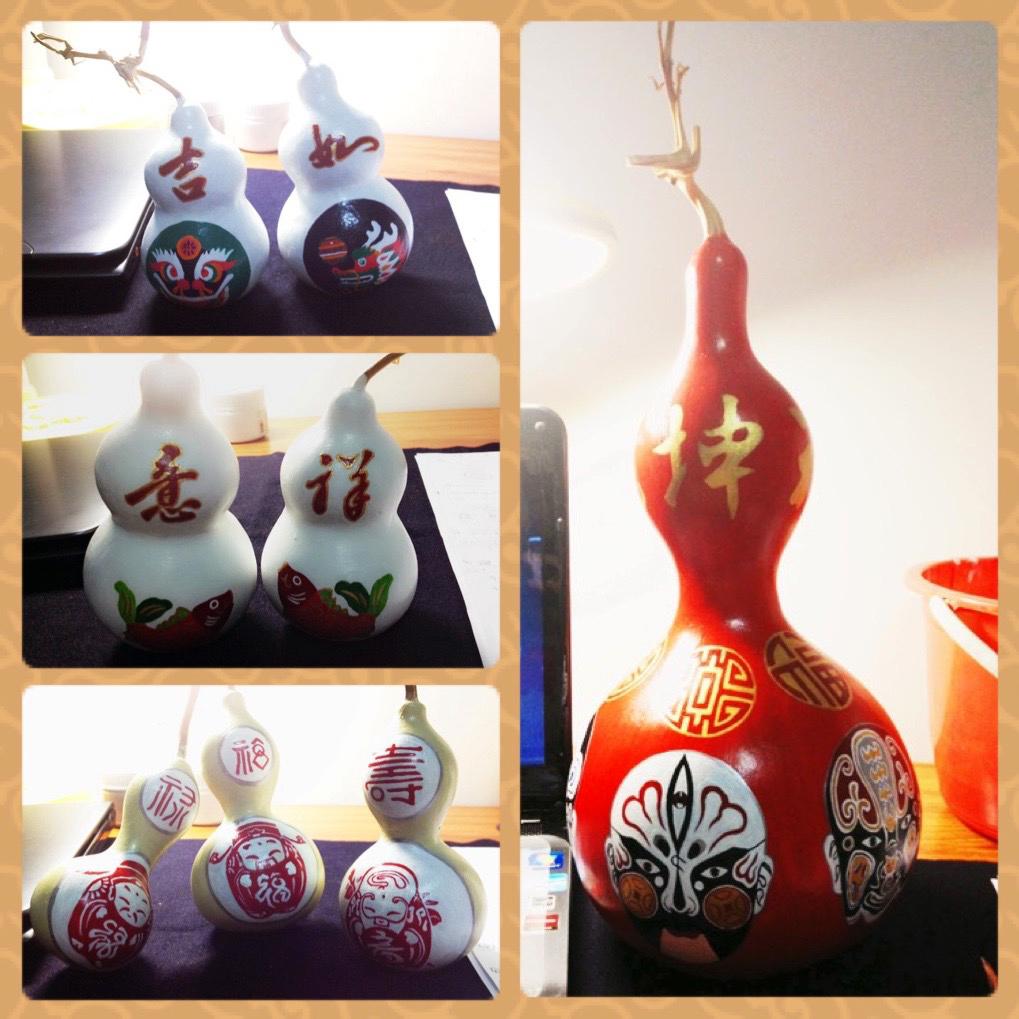 2016春节手绘葫芦