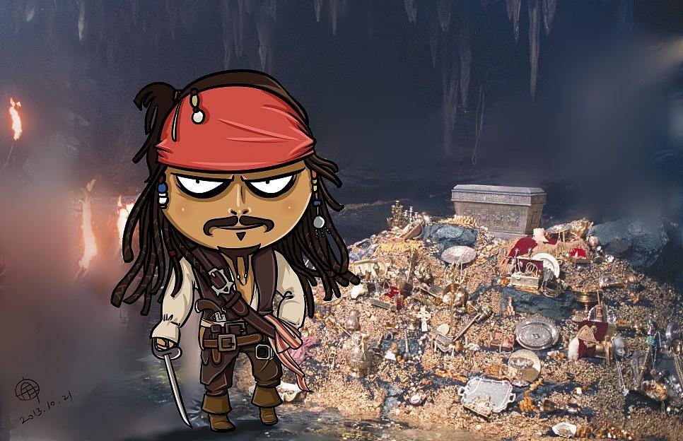 原创【加勒比海盗】
