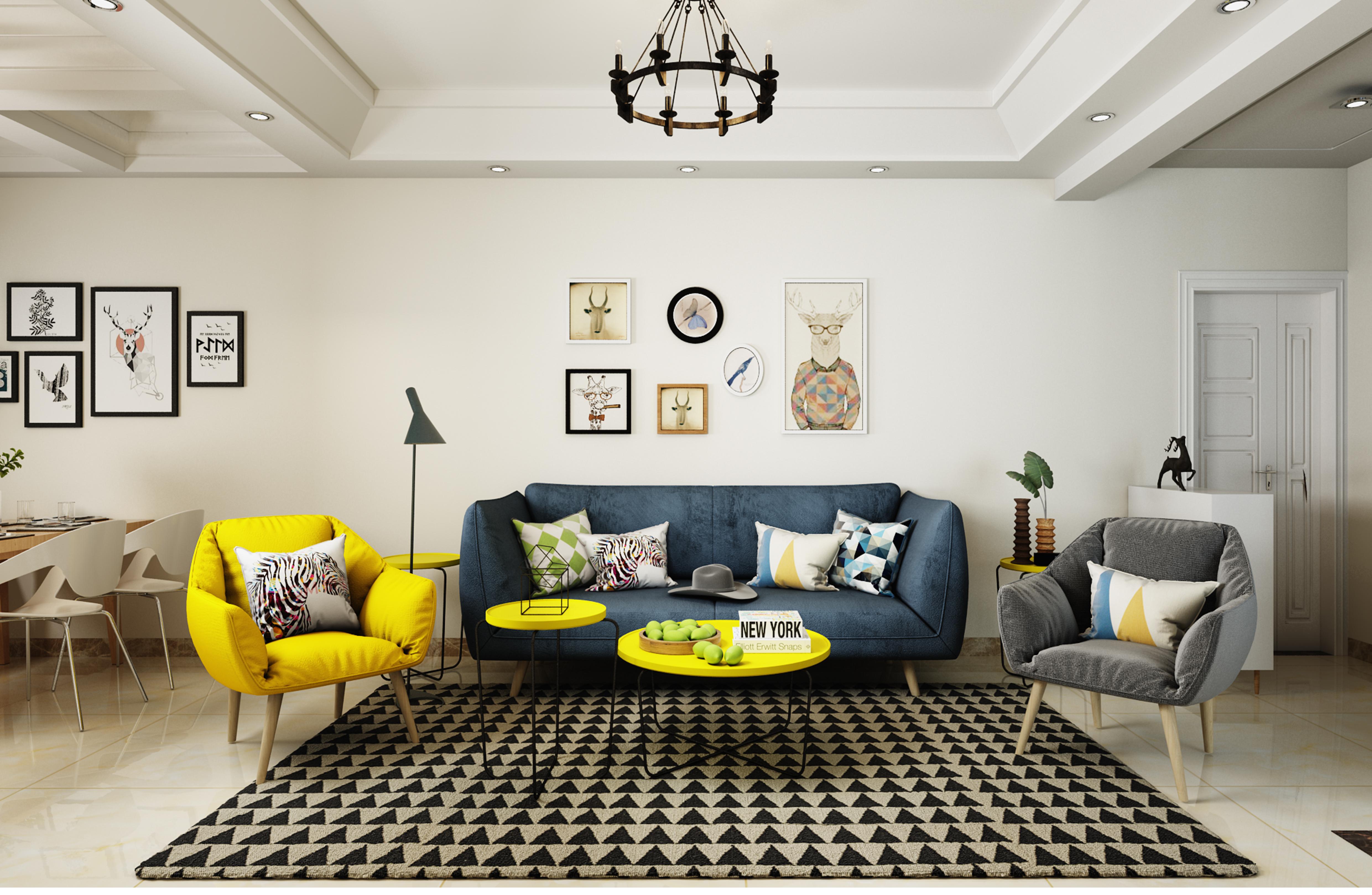 北欧|空间|室内设计|半个丶西瓜 - 原创作品 - 站酷