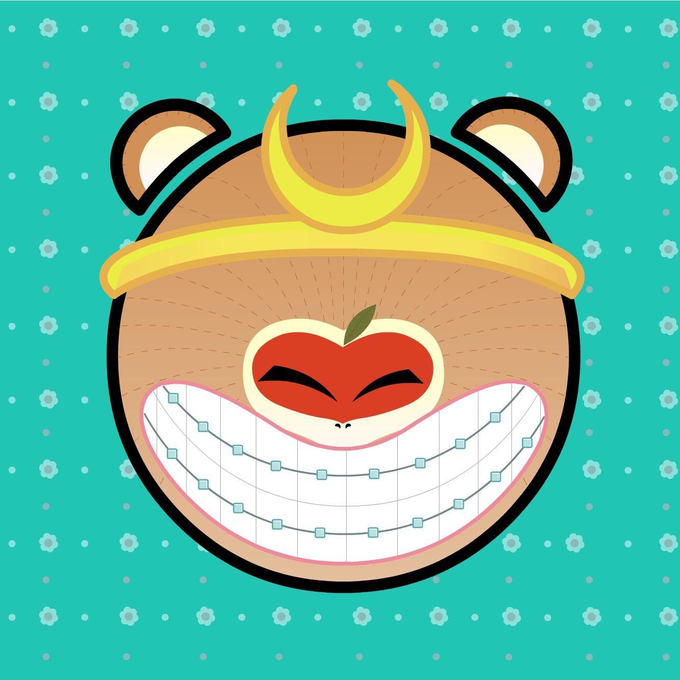 带牙套的猴儿少年~猴赛雷呀|动漫|单幅漫画|蒙圈lee图片