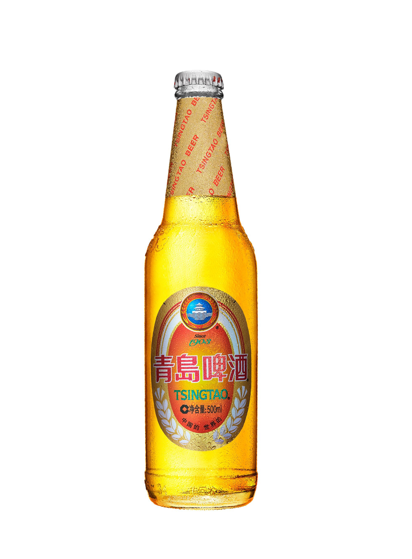 青岛啤酒修图