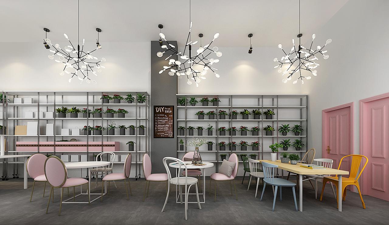 一个不像花店的花店|空间|室内设计|shirlekinyg图片