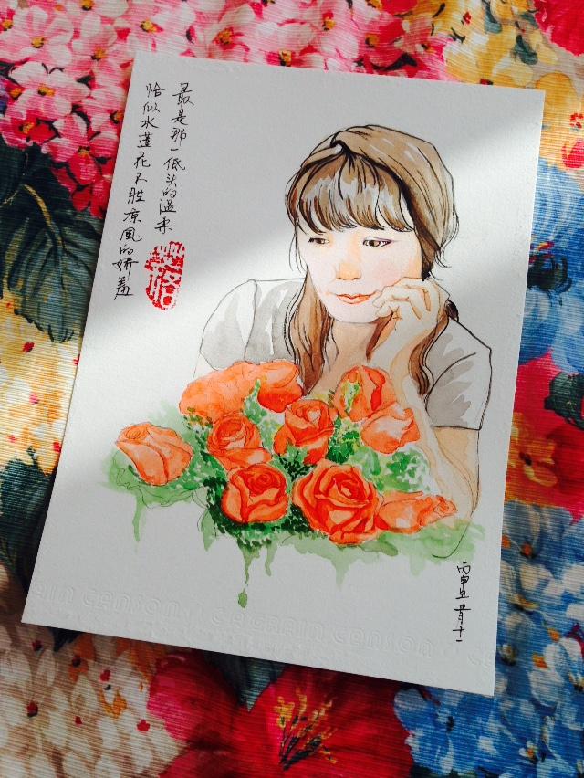 妈妈生日快乐!|水彩|纯艺术|Estam - 原创设计作品 - 站酷 (ZCOOL)