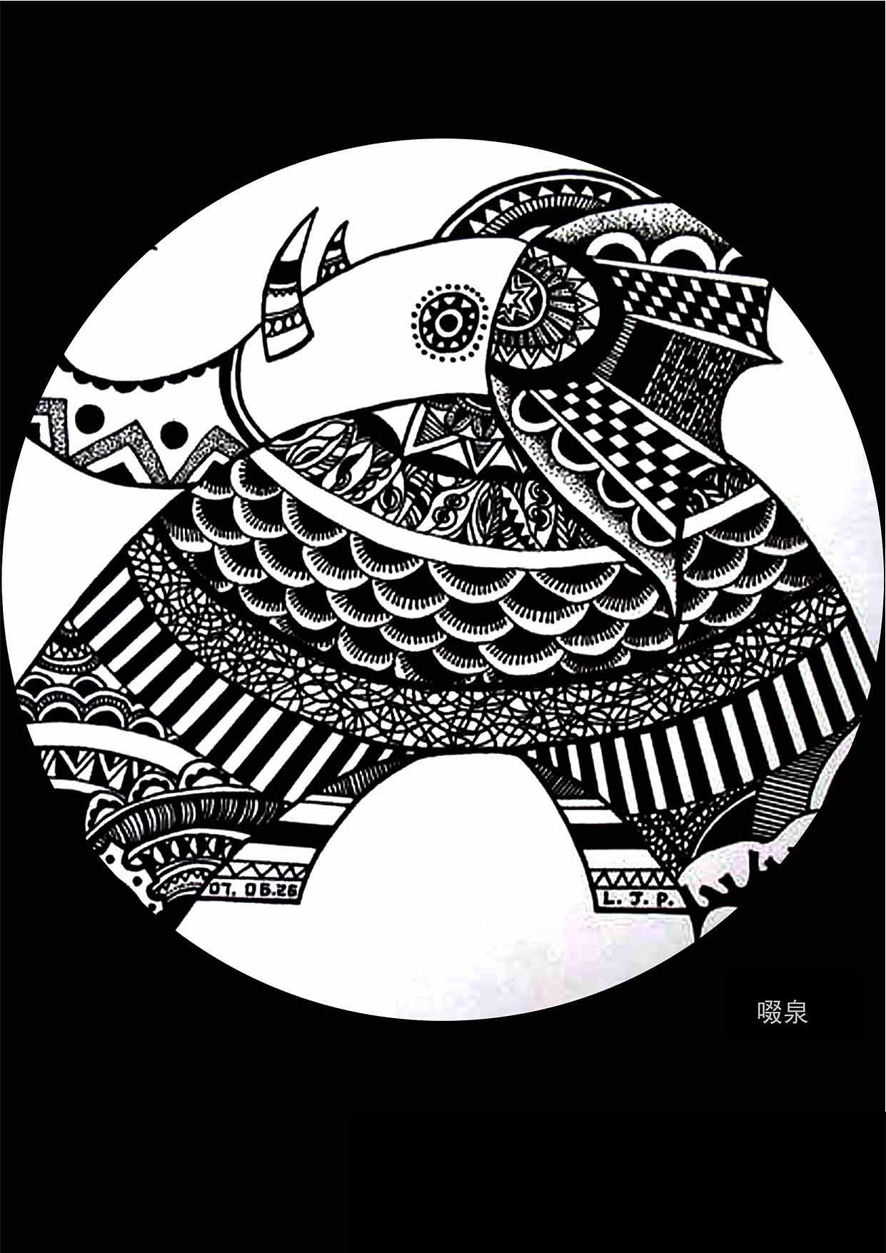 我的素描创意手稿|插画|商业插画|啜泉 - 原创作品图片