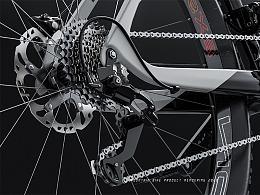 山地自行车渲染