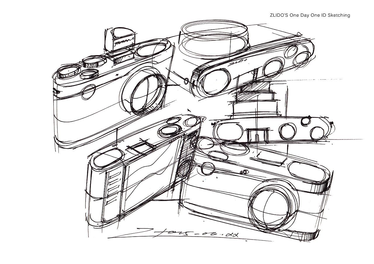 2015产品设计手绘6月 一日一画