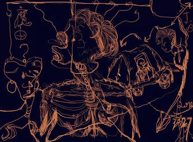 随手笔记-手绘 其他艺创 纯艺术 涂建炳 - 原创设计