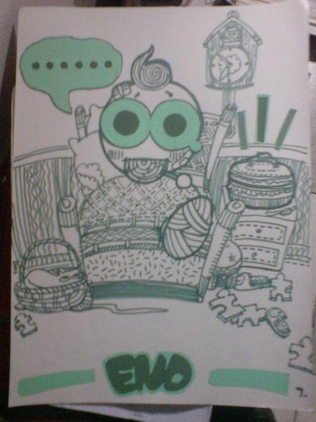 马克笔手绘-糖果盒子