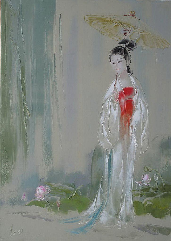 刘文进 意向油画