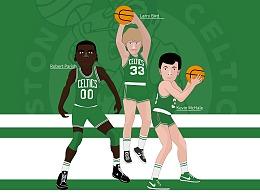 NBA冠军组合之波士顿凯尔特人80年代三巨头