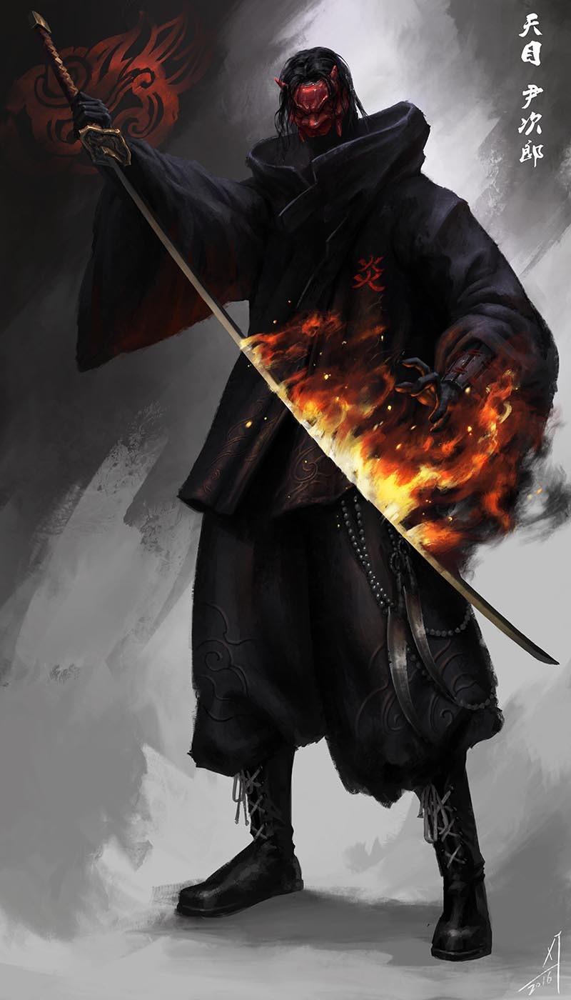 查看《Ninja概念设计2016》原图,原图尺寸:800x1400