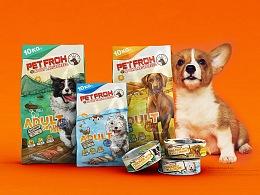 【佰芙·宠物食品包装设计合集】让我们来撒狗粮~
