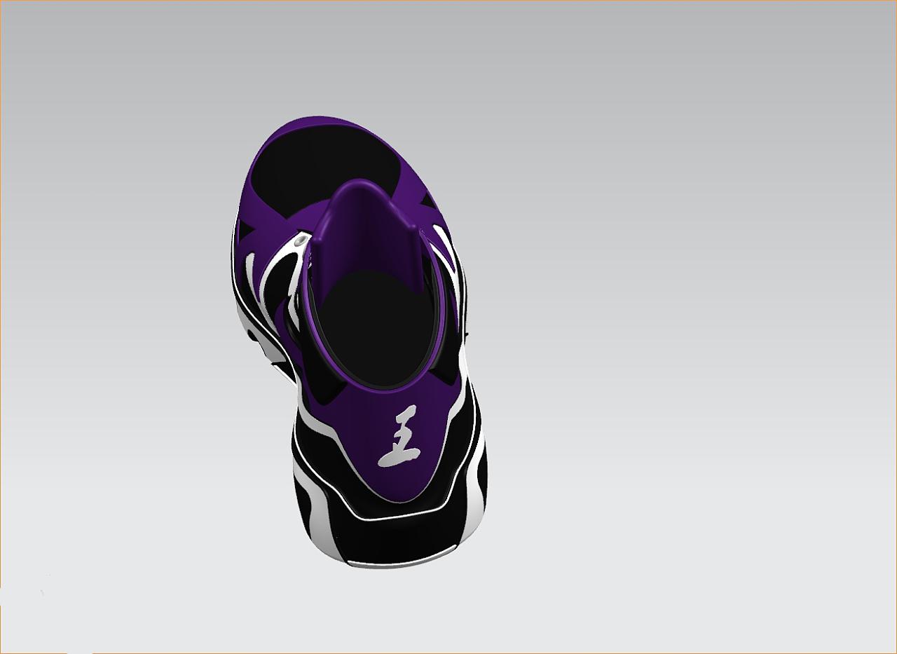 自制篮球鞋