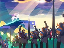 《剑与家园》艾莲娜英雄宣传片