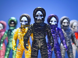 B级宇宙 骷髅宇航员
