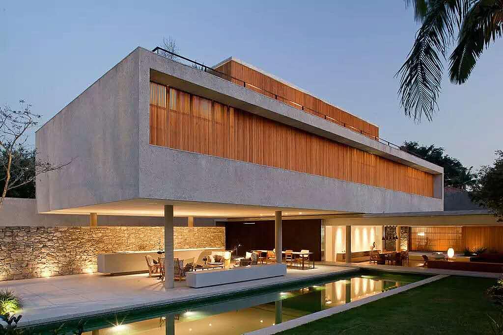 建筑外立面木材