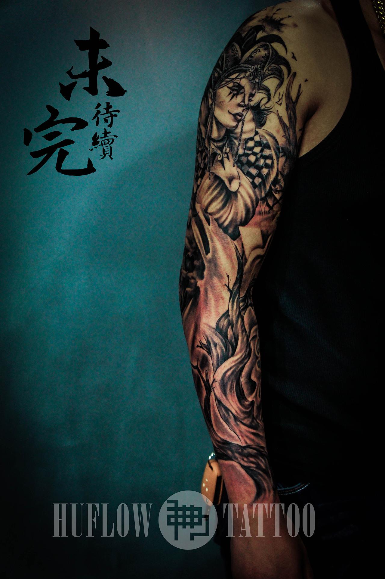武汉湖佛纹身
