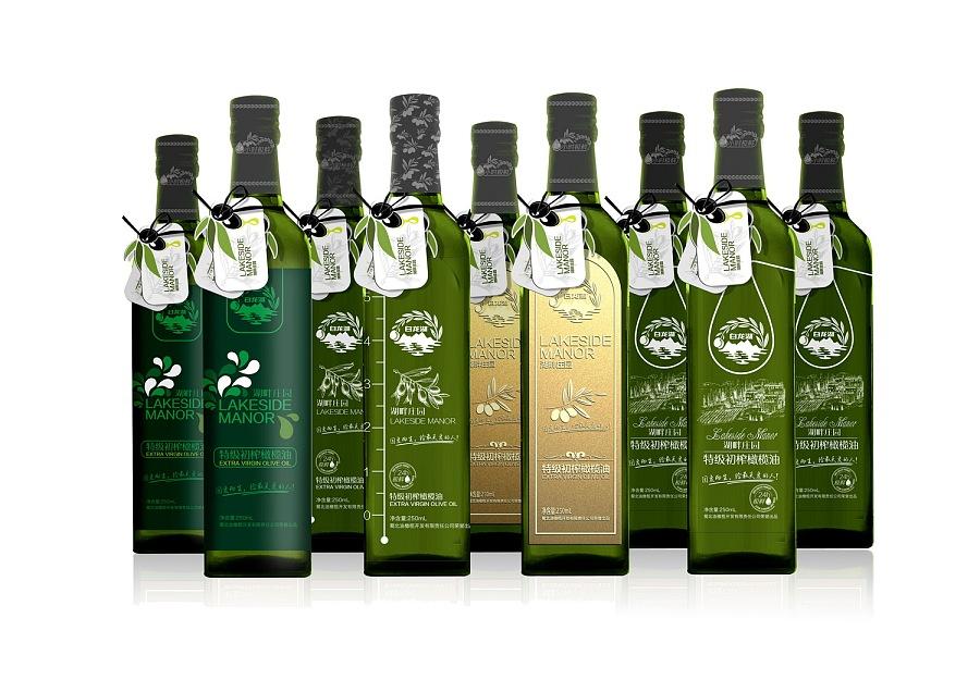 橄榄油包装 包装 平面 爱设绘
