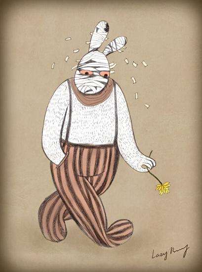 兔子先生手绘_兔子先生#1