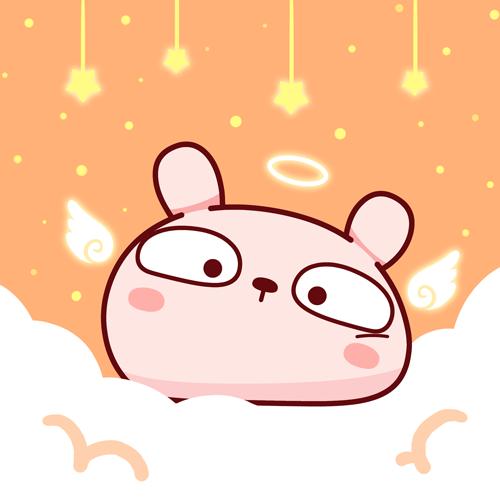冷兔宝宝表情第一弹|网络同学|动漫|冷兔头像-图强搞笑图片