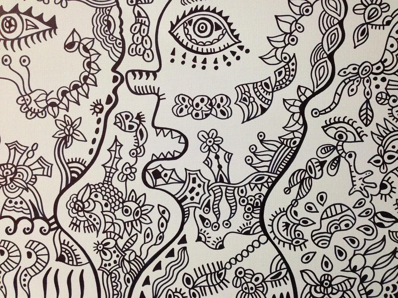 马克笔手绘《双生》